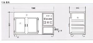 テスト専用 冷風乾燥機ミニカン21 図面